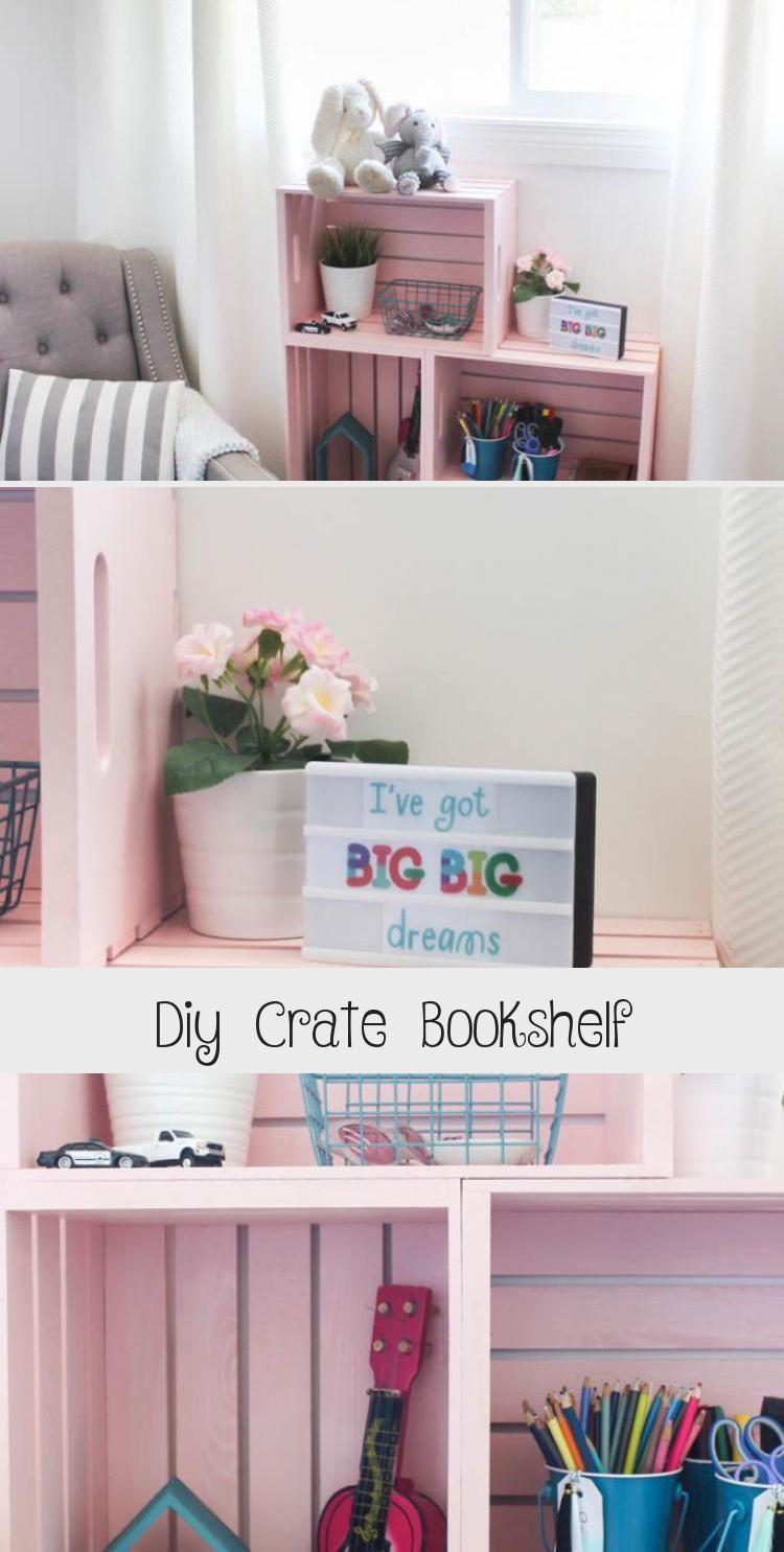 Photo of Diy Crate Bookcase – Dekor Dıy – Beeindruckend! Erstaunliche Boxbücher …