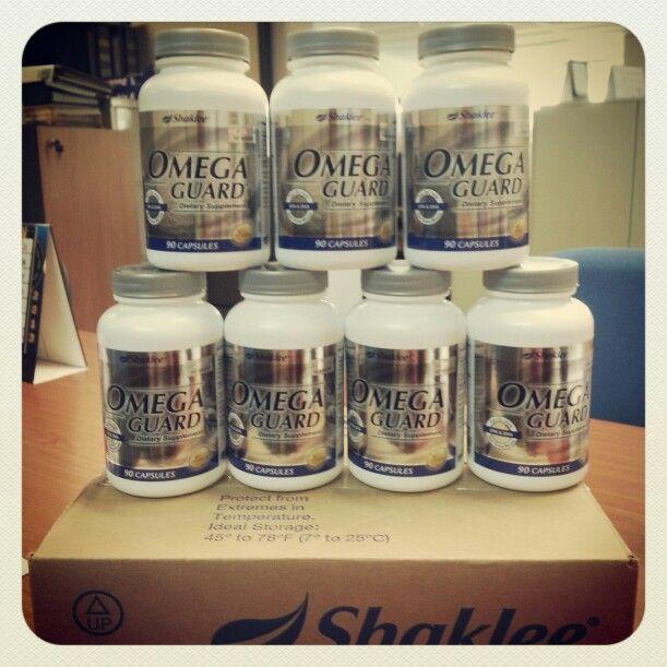 Omega Guard. Minyak ikan Omega-3. Terbaik hanya dari Shaklee