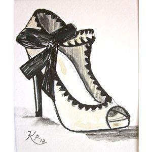 fashion shoe design sketches google search shoe art