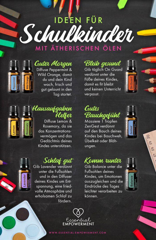 doTERRA Back to School Ideen mit ätherischen Ölen für Schulkinder #backtoschool