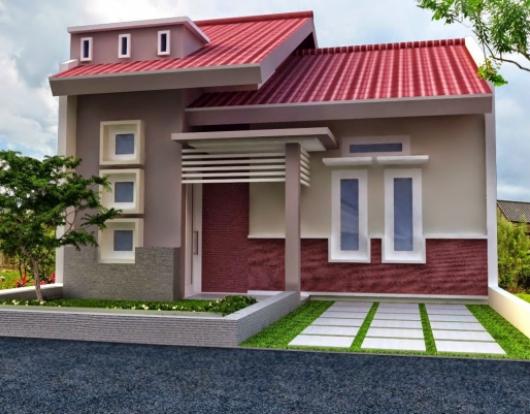 Warna Cat Rumah Minimalis Tampak Depan Type 36 Rumah Minimalis