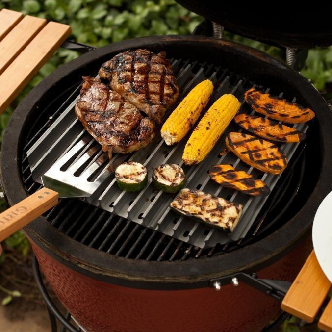 GrillGrate Hard Anodized Aluminum 3-Panel Grill Surface Set