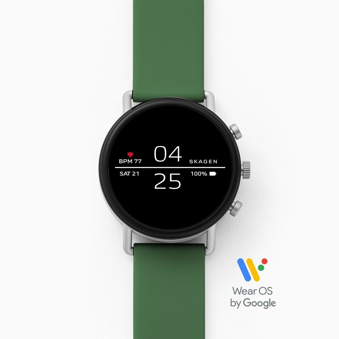 Smartwatch - Falster 2 Green Silicone
