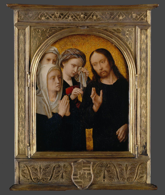 Christ Taking Leave of His Mother / Cristo despidiéndose de su madre ...