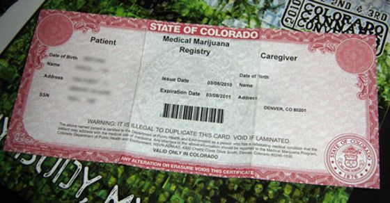Colorado Drops Medical Marijuana Patient Fee From $90 to $15 | Cannabis Culture reports that Colorado's medical marijuana patient annual registration fee will drop from $90 to just $15 early next year.