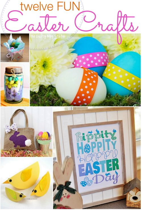 Twelve fun easter crafts easter crafts easter and craft twelve fun easter crafts negle Image collections