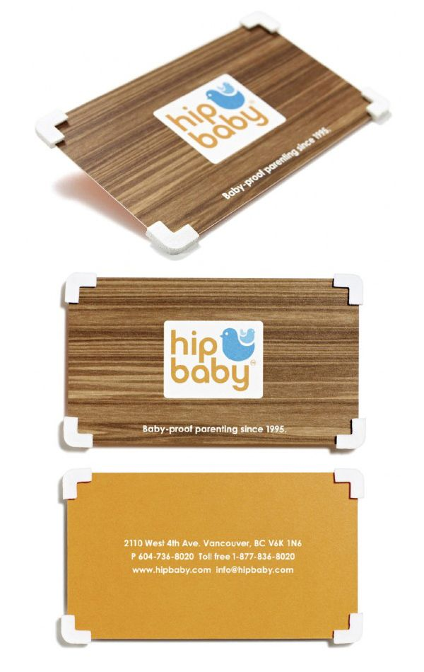 Hip Baby\'s Creative Business Card | (not boring) business card ...