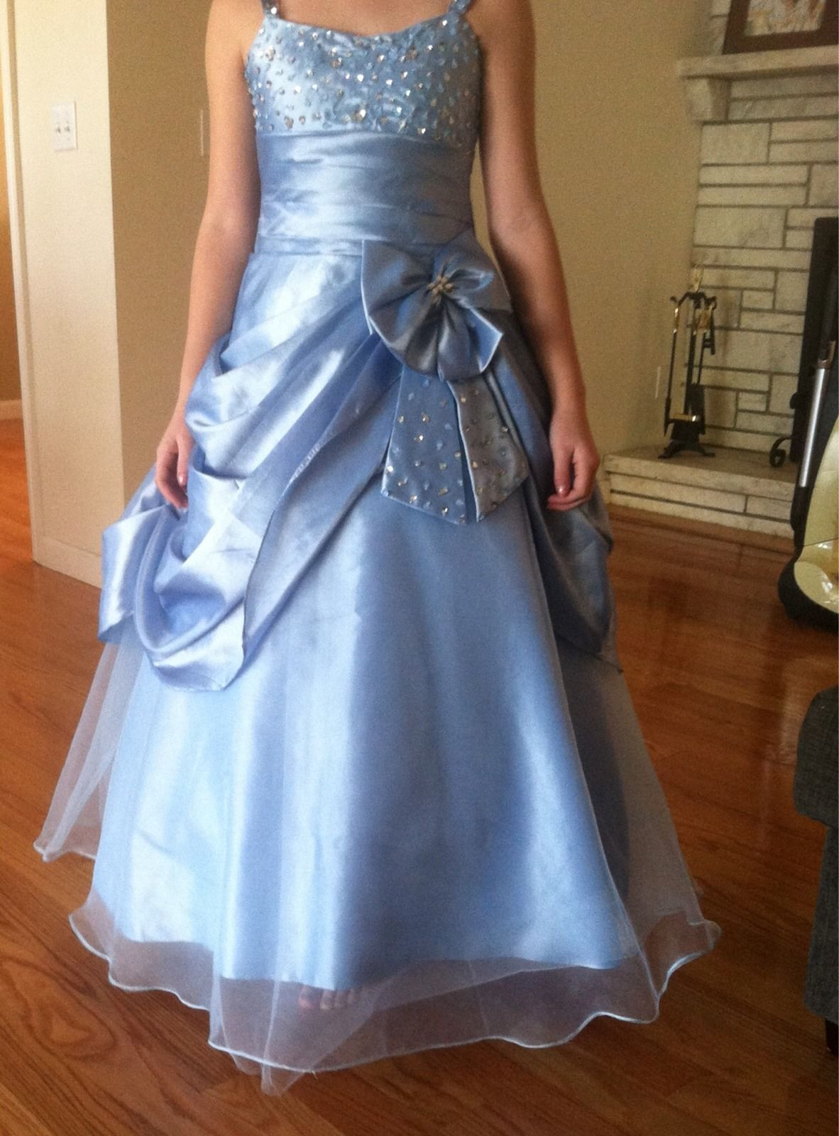 Girls Natural Pageant Dress Size 10 | eBay | ♕Tot In A TiᎯℛᎯ ...