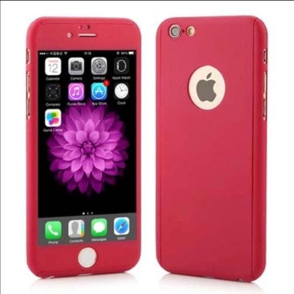 iPhone 6/6s 360 full cover defender hard case | Purple cases ...