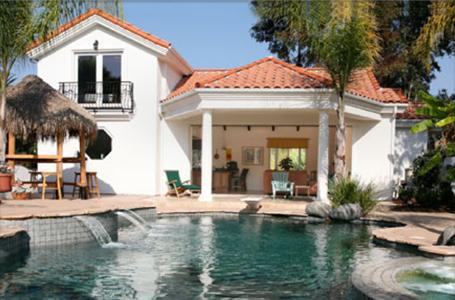 pool cabana guest house plans | Carrasco Construction | Pool ...