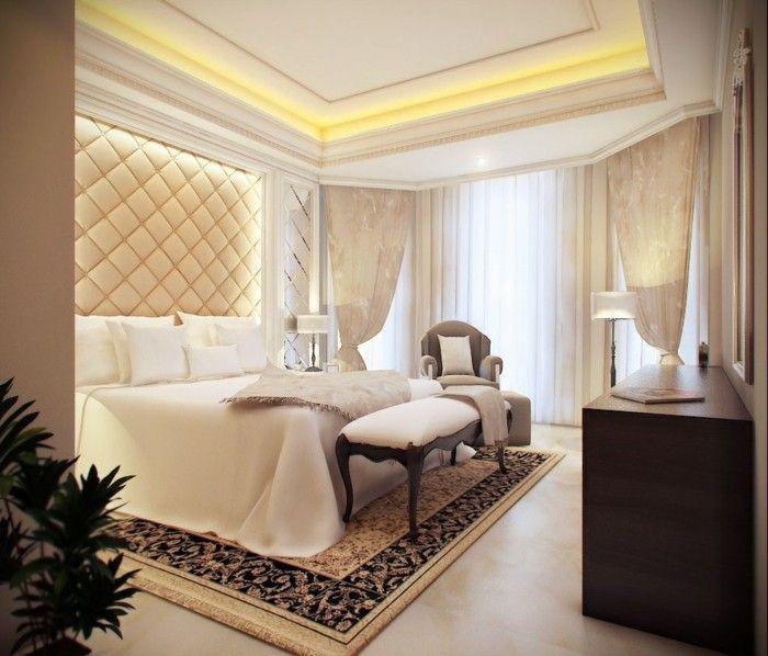 Schlafzimmer Ideen Stilvolles Innendesign Und Abgehängte Decke