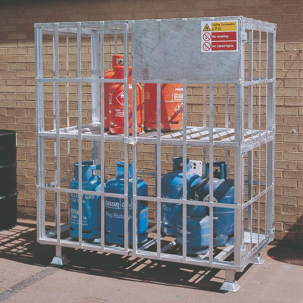 gas cylinder cages - Gas Cylinder Cages