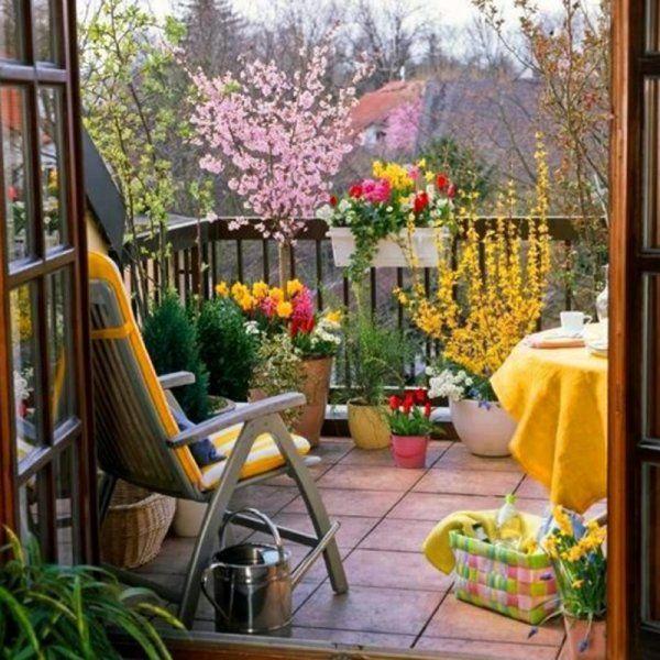 Un balcon ensoleillé - Marie Claire Maison