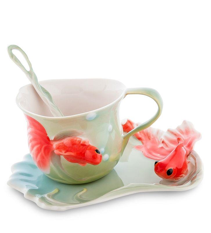 поздравление к подарку чайные пары