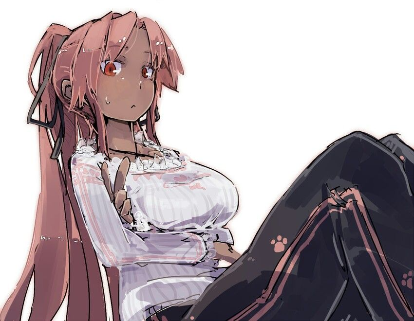 Pin On Black Anime Girl