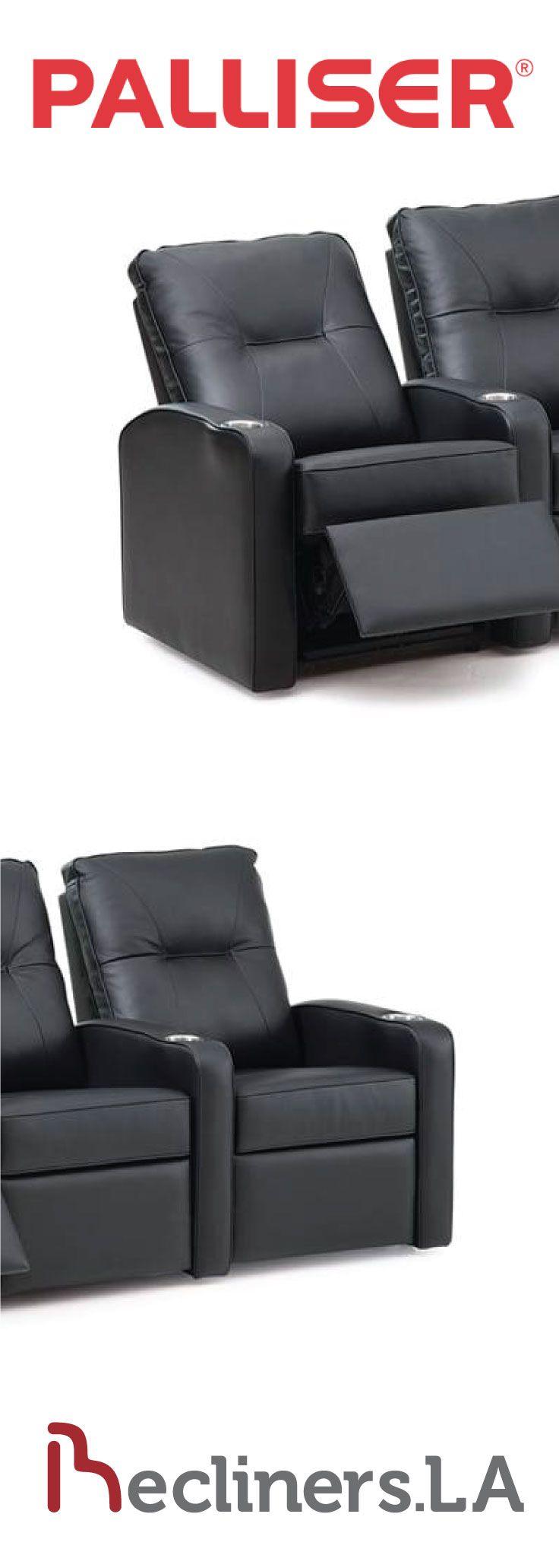 Palliser Leather Sofa Reclining Integrated Footrest Ottoman Http Www