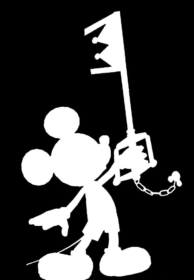 Kingdom hearts mickey disney vinyl car decal by wibblywobblythings on etsy