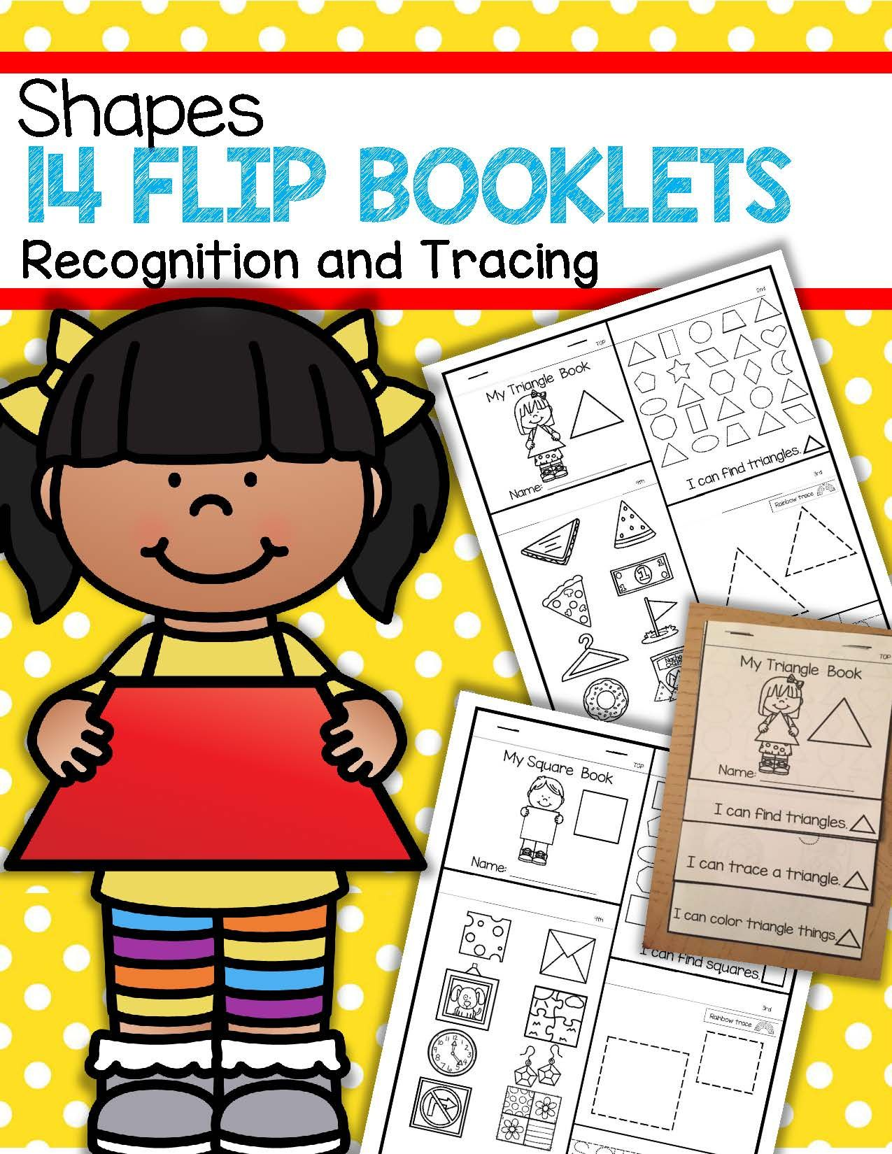 14 Shapes Flip Books