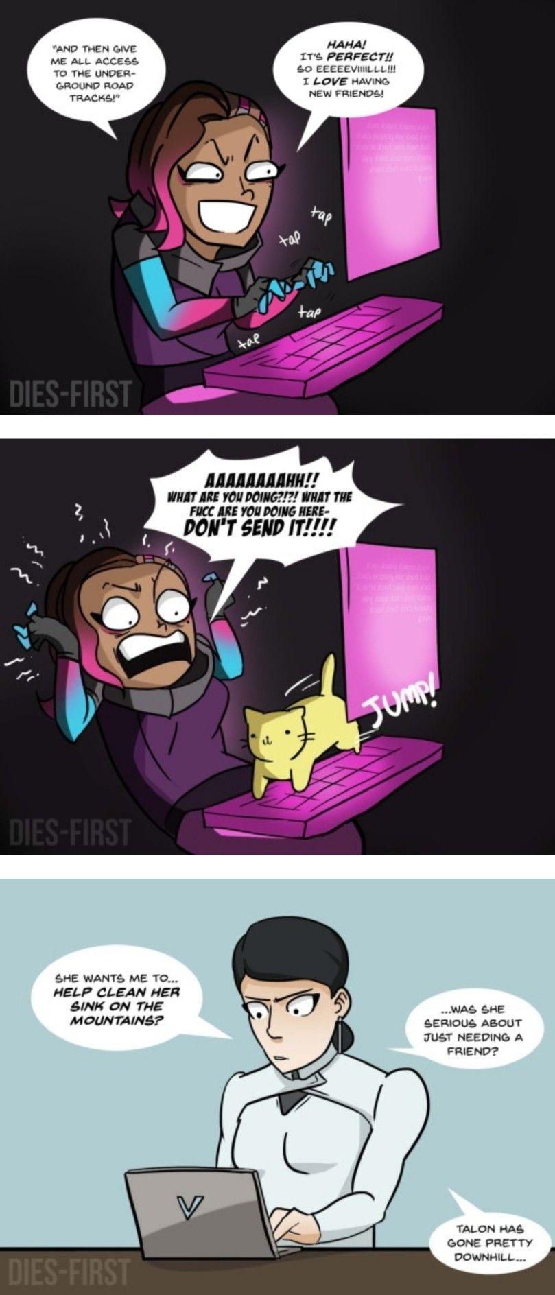 Overwatch Comic Overwatch Funny Overwatch Overwatch Funny Comic