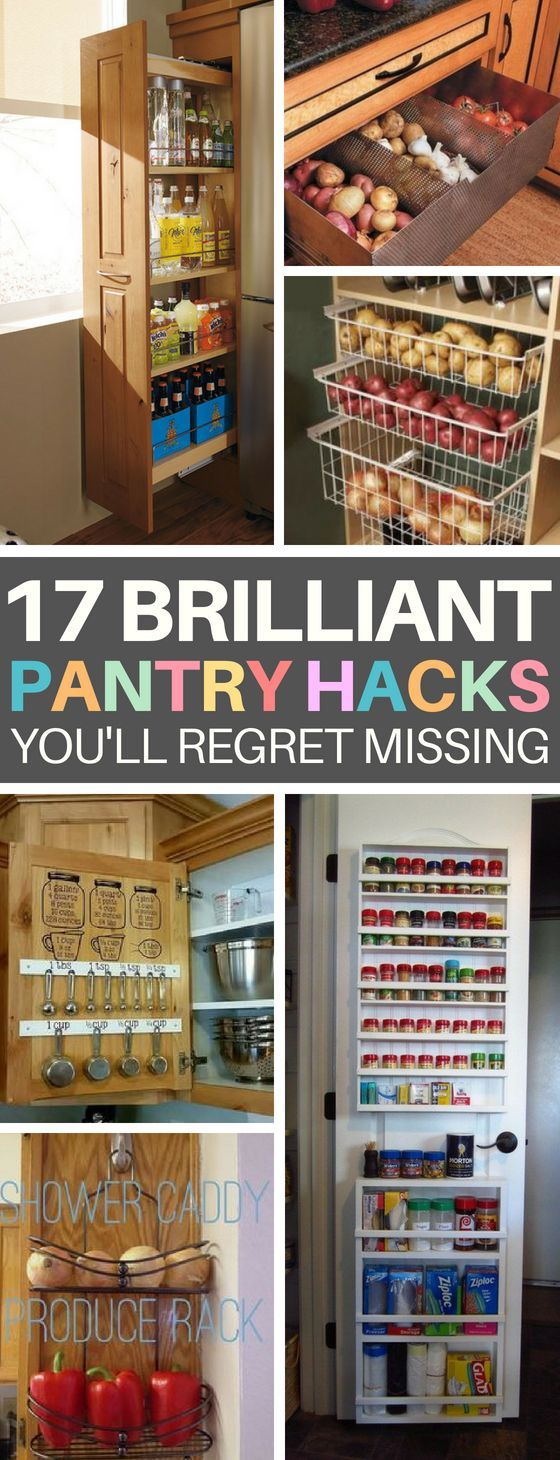 Kitchen Cabinet Organization: 17 Hacks to Start Organizing Now #pantryorganizationideas