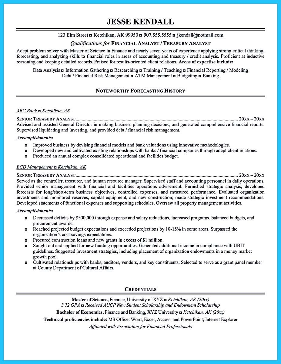 awesome high quality data analyst resume sample from