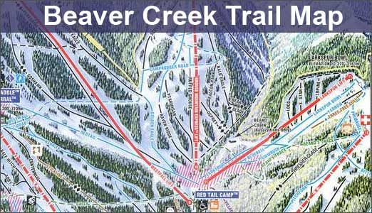 Beaver Creek Colorado Lux And Then Some Been There Done That - Beaver creek ski trail map
