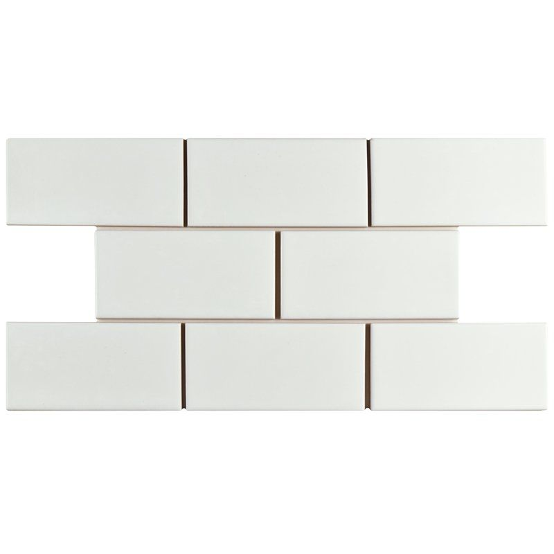Elitetile Prospect 3 X 6 Ceramic Subway Tile In Glazed White