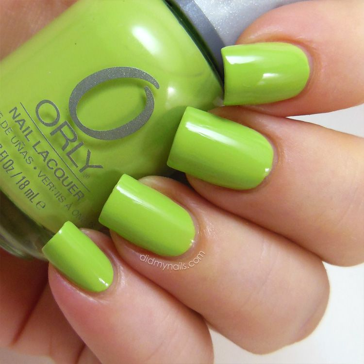 lime green things | ... green without going lime or neon, and ...