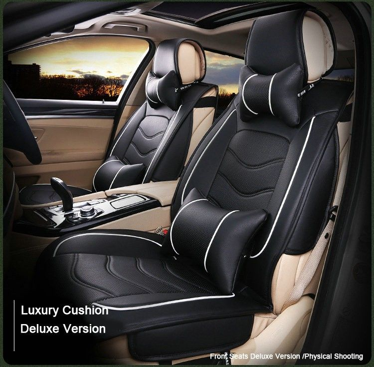 Cheap Leather Seat Covers Buy Quality Cover Directly From China Brands Suppliers Red Black Grey Brand Front Rear