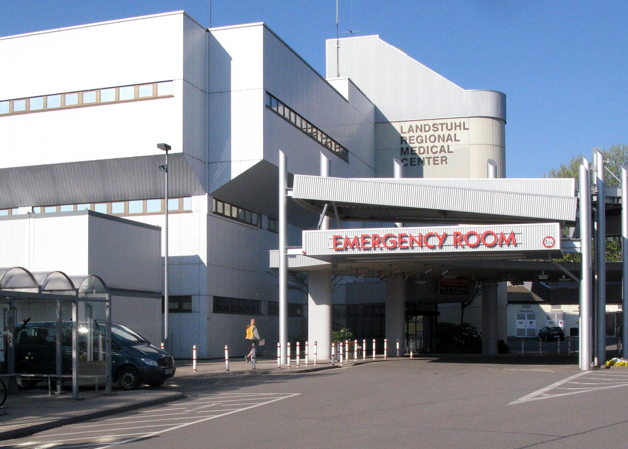 Lrmc was the last german hospital marshall was in before