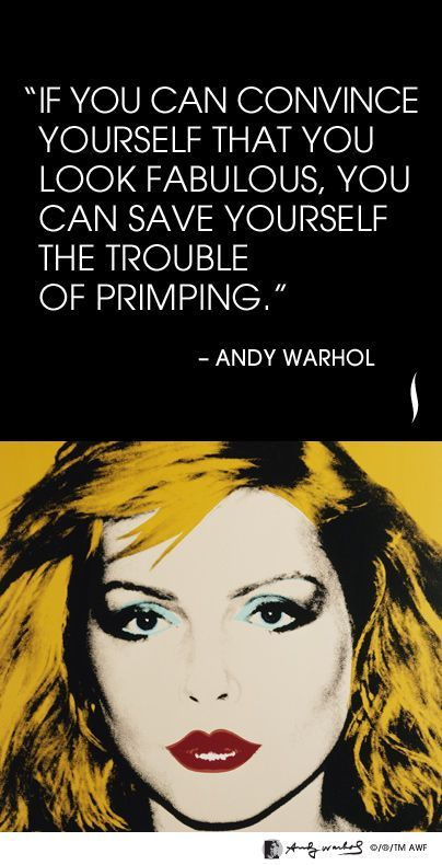 Andy Warhol's 7 Most Unforgettable Quotes | Andy warhol ...