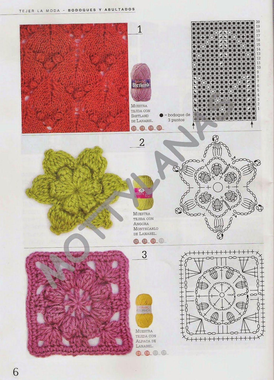 Pin de Saima en crochet ideas 05 | Pinterest | Abultado, Ganchillo y ...