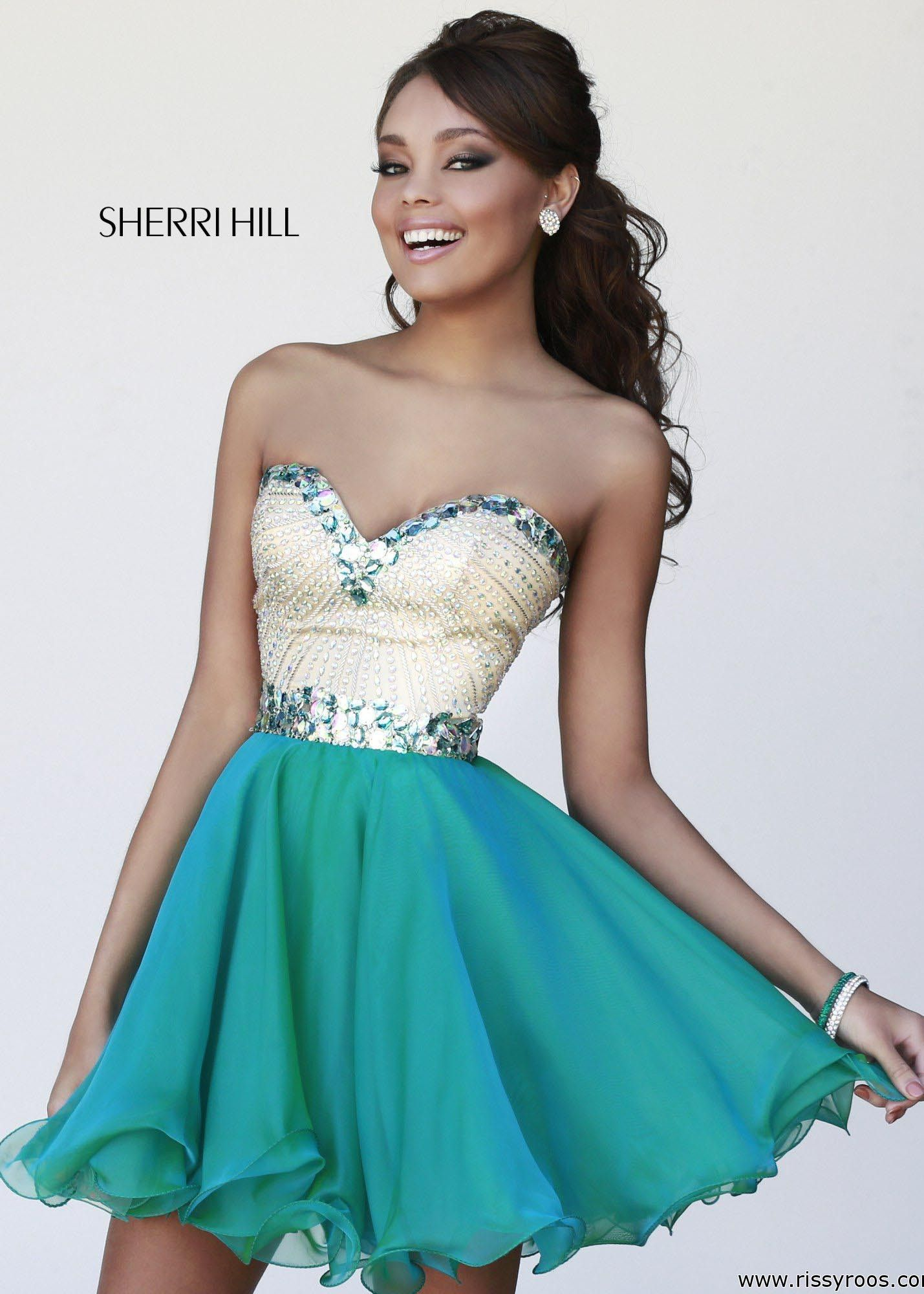 Sherri Hill 1929 Beaded Party Dress | dresses | Pinterest ...