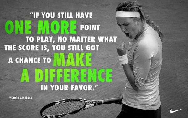 Victoria Azarenka S Tennis Equipment Tennis Quotes Sports Quotes Tennis
