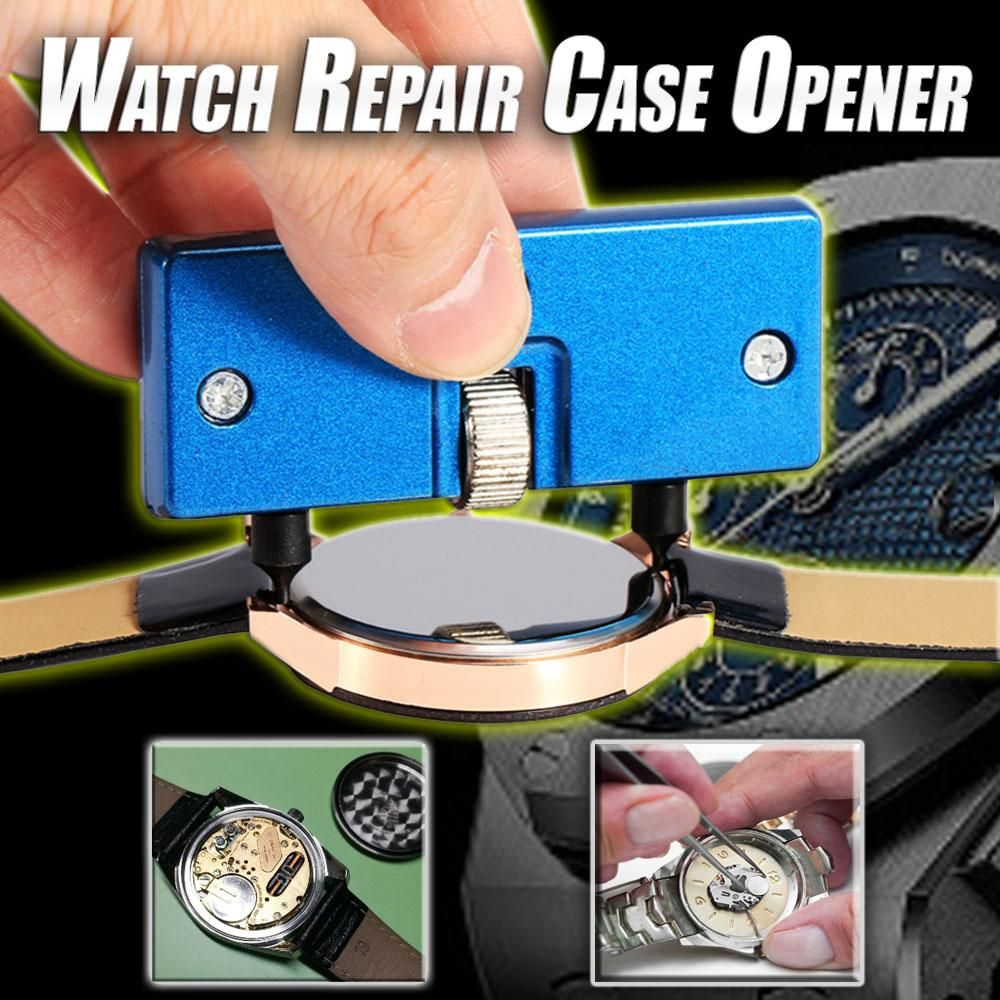 Watch Repair Case Opener Yellow watches, Blue watches