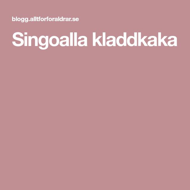 Singoalla kladdkaka