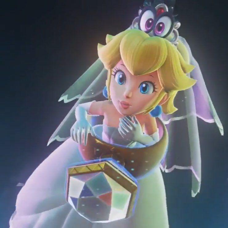 Love This Pic Supermarioodyssey Princesspeach Peach Princesstoadstool Mariopeach Peachandbows Prin Peach Mario Mario And Princess Peach Princess Peach