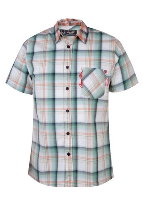 Camisa Suécia Bordado Xadrez - Dafiti - R$ 140,90