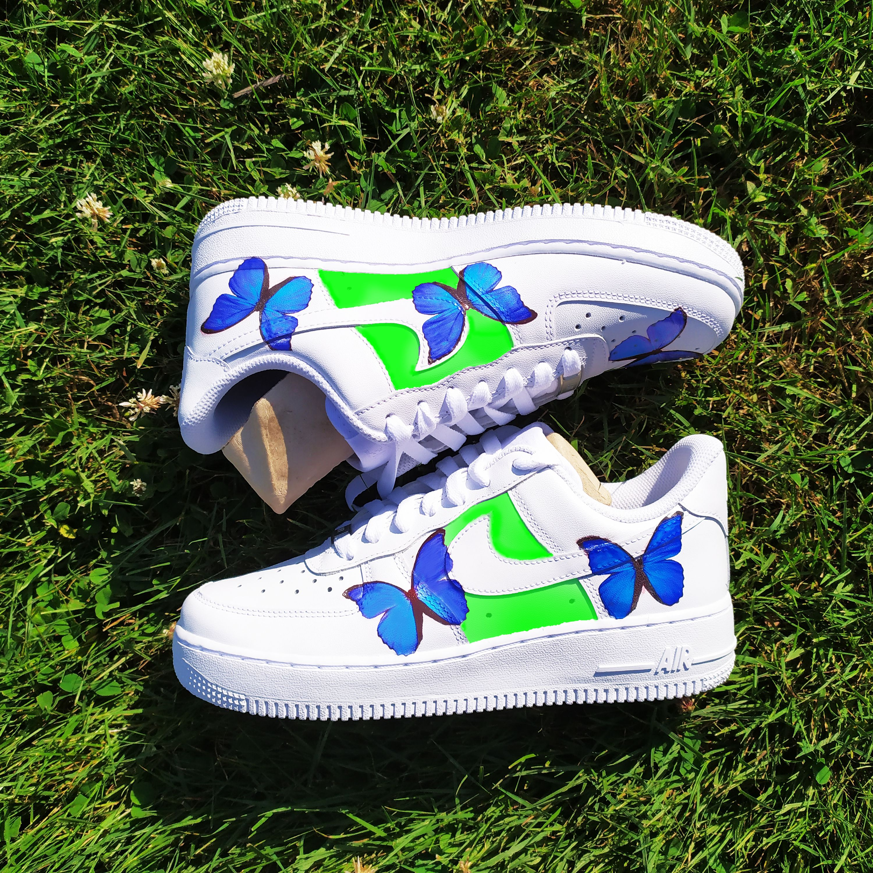 Custom Nike Air Force 1, Butterfly Shoes Butterfly shoes