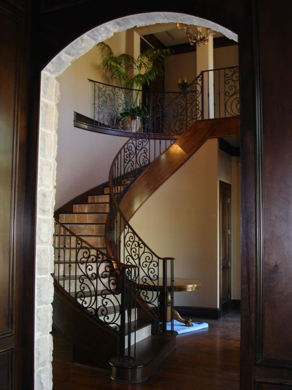 Tuscany B1 Flat Level Cheap Stair Parts Stairway Design Handrail Design
