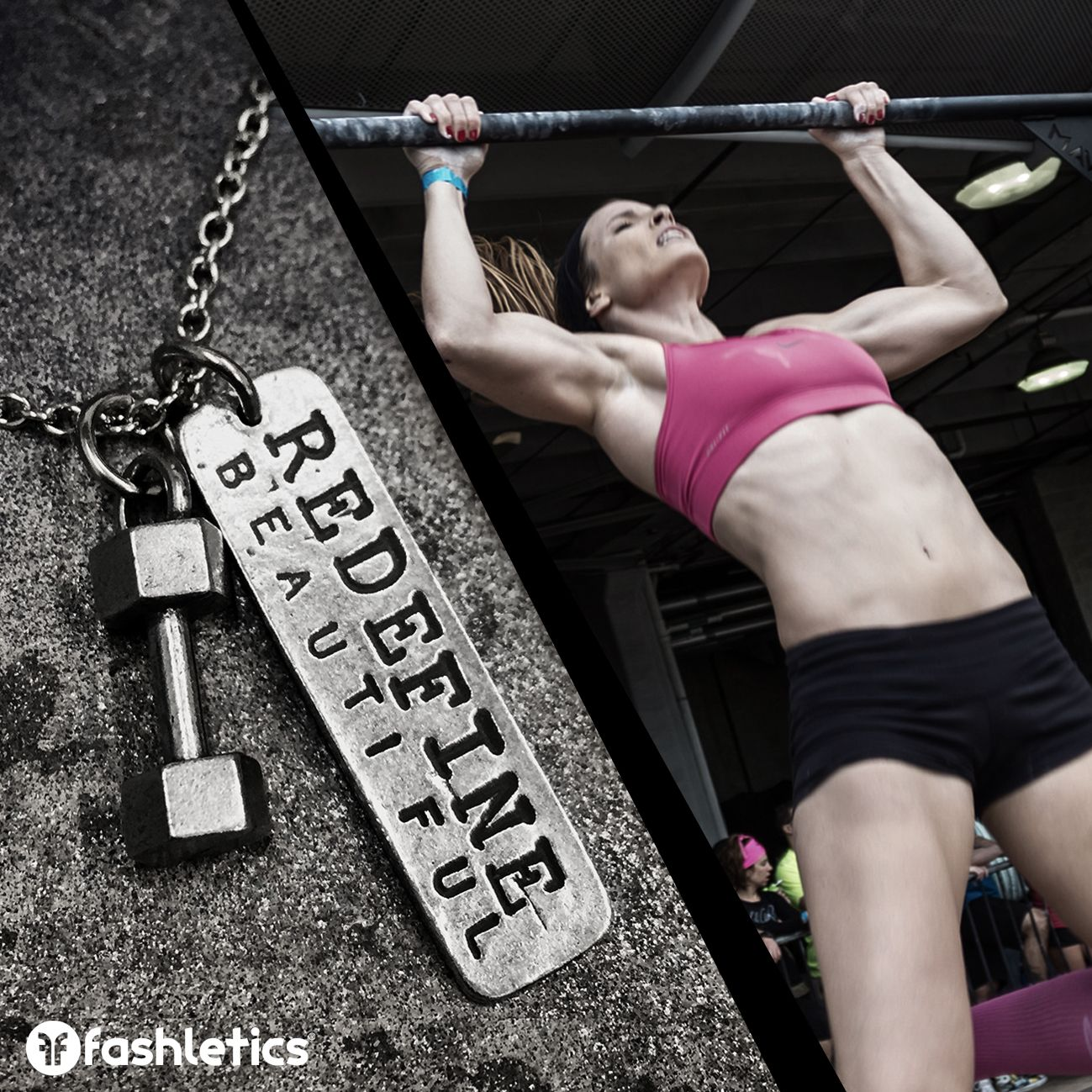 Redefine beautiful... one rep at a time.