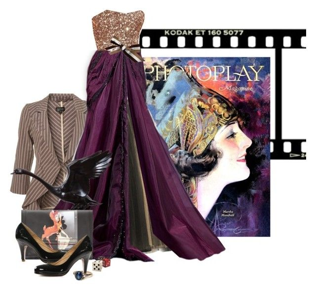 """""""Curtain is up for another photoplay"""" by redheadlass on Polyvore"""