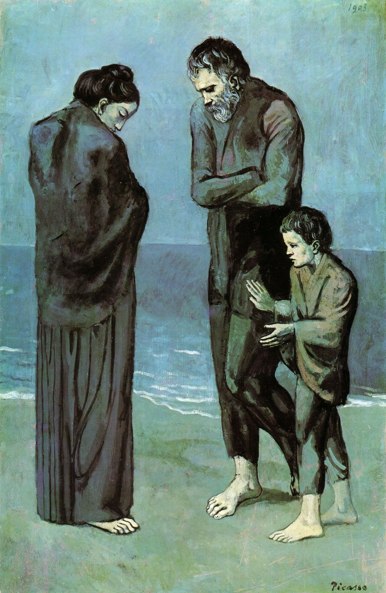 Pablo Picasso, The Tragedy