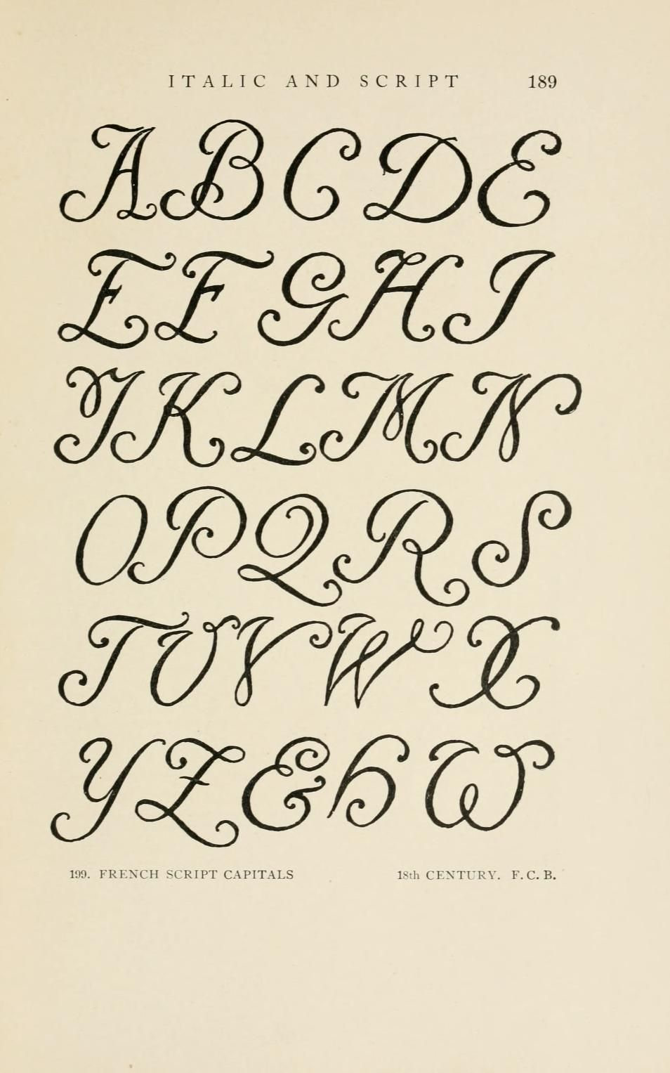 Letters & lettering; a treatise with 200 examples | Tatuagem | Pinterest