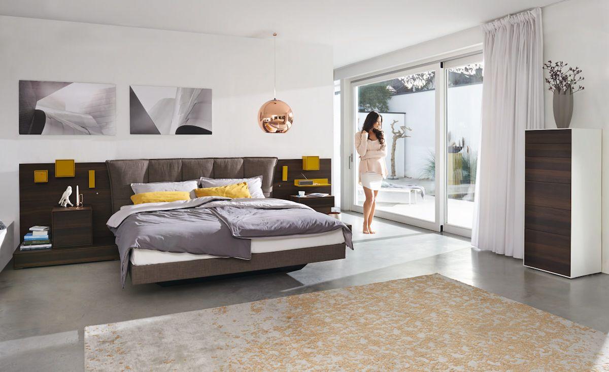 Hulsta Lunis Bed Schlafzimmer Design Wohnen Und Luxusschlafzimmer