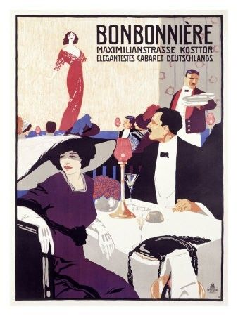 Vintage 1920/'s Weimar Republic German Ladies Magazine Cover Poster A3 Print