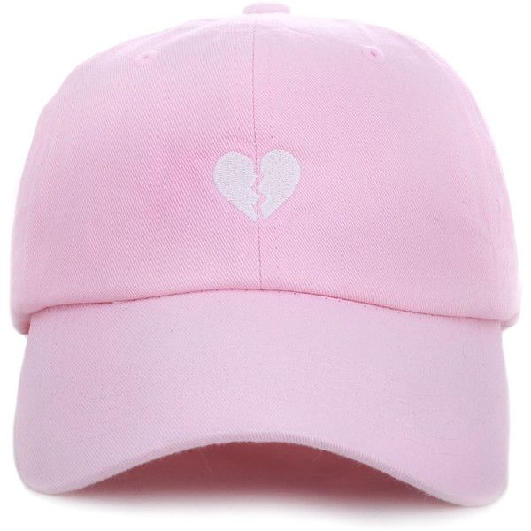646a129fce07ec1e86cfdde5a96af1d2 any memes the broken heart dad hat in pink (1,380 dop) ❤ liked on