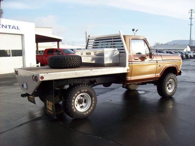 78 Ford Flatbed Legendary Spokes Ford Trucks Trucks Ford