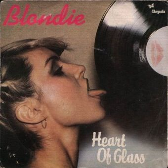 Blondie 'Heart of Glass' Record Cover (Debbie Harry) | Rock album ...