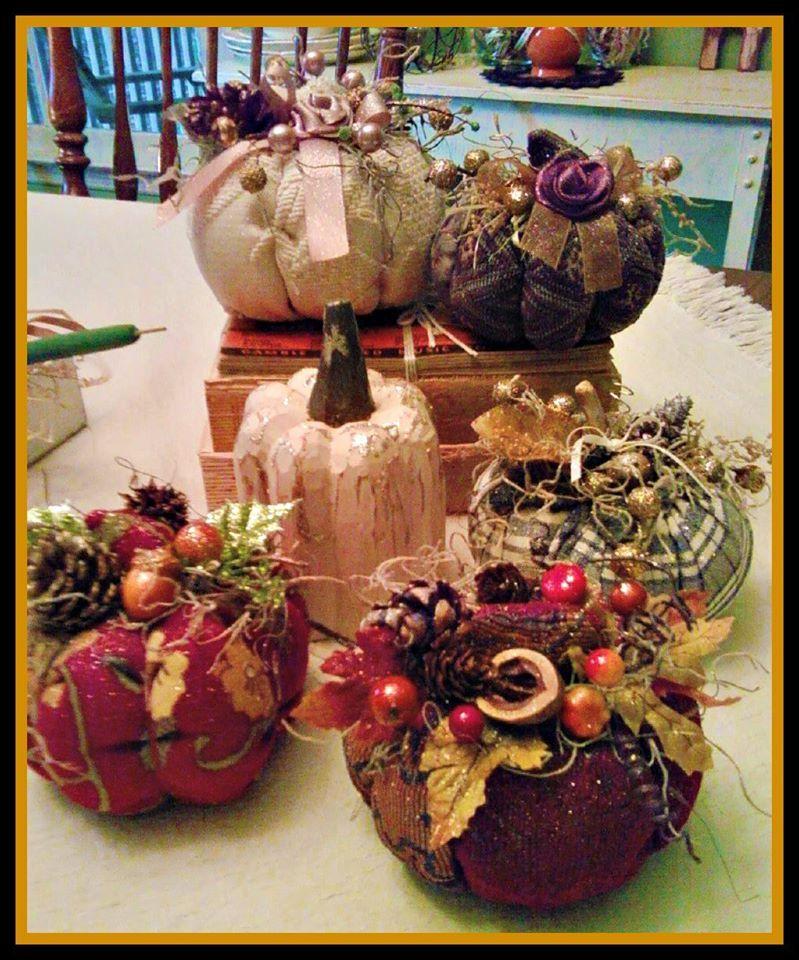 My handmade Pumpkins